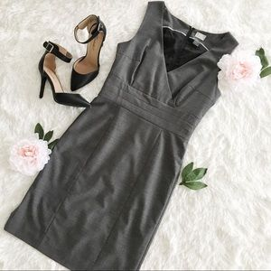 H&M fitted sleeveless dress